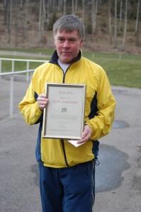 Reine Johansson, mottagare av Årets pris