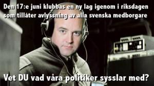 Reinfeldt lovade lyssna på väljarna...