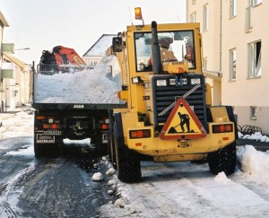 Kommunal snöröjning i extrema förhållanden