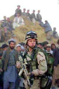 Sverige ska inte kriga i Afghanistan
