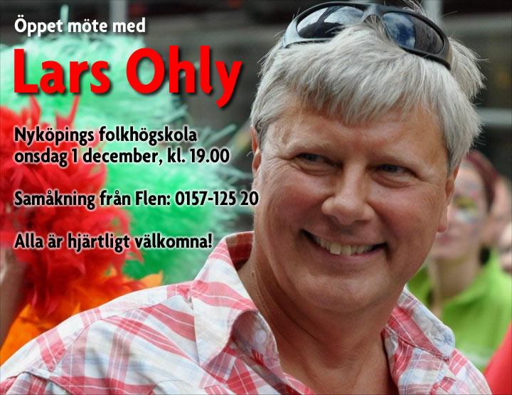 Lars Ohly till Nyköping